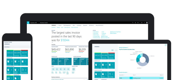 Announcing Microsoft Dynamics 365 Business Central