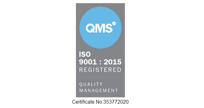 Queue Associates UK Receives ISO9001:2015 Quality Management Certification